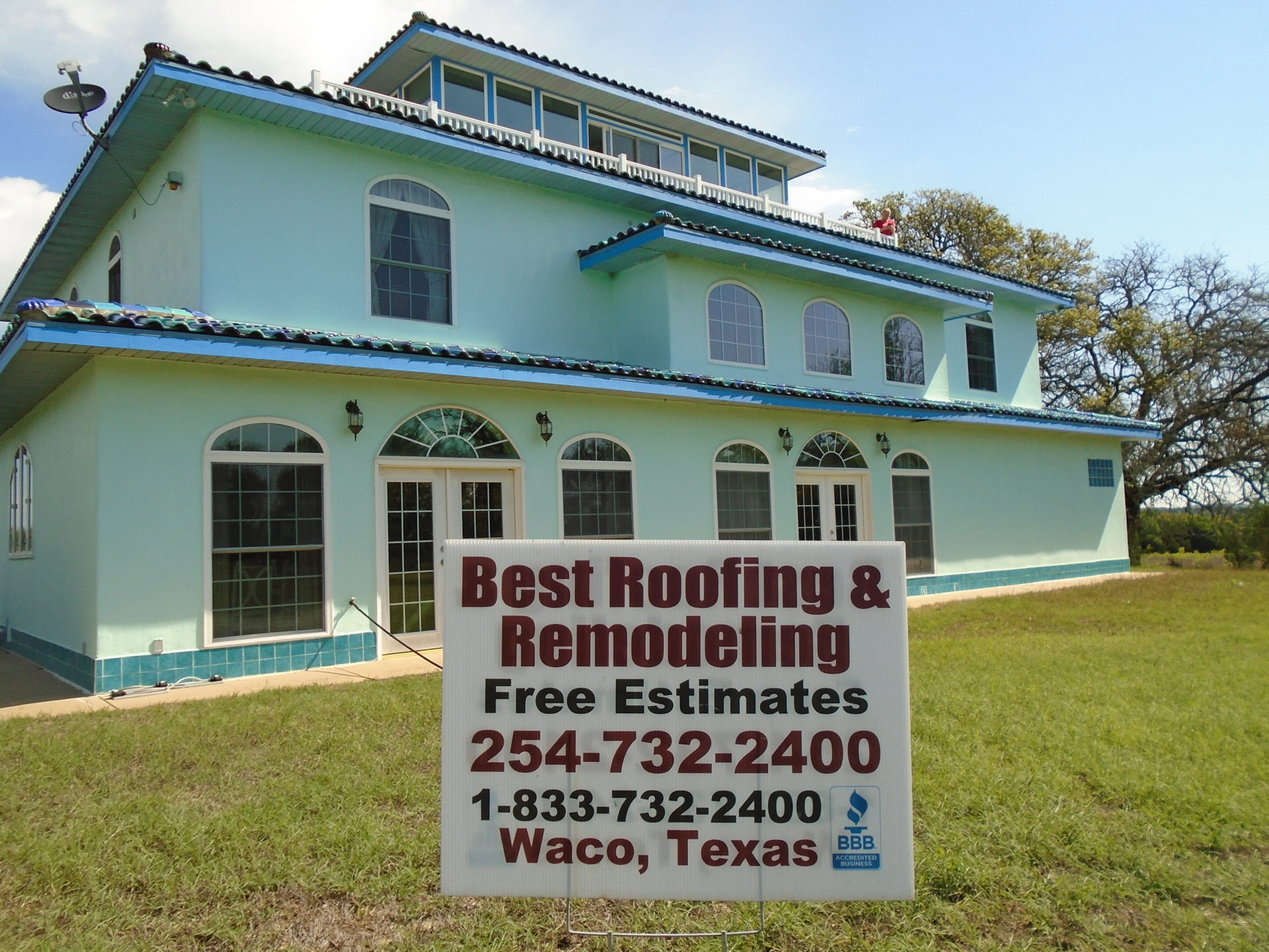 Best Roofing & Remodeling Waco Free Estimates