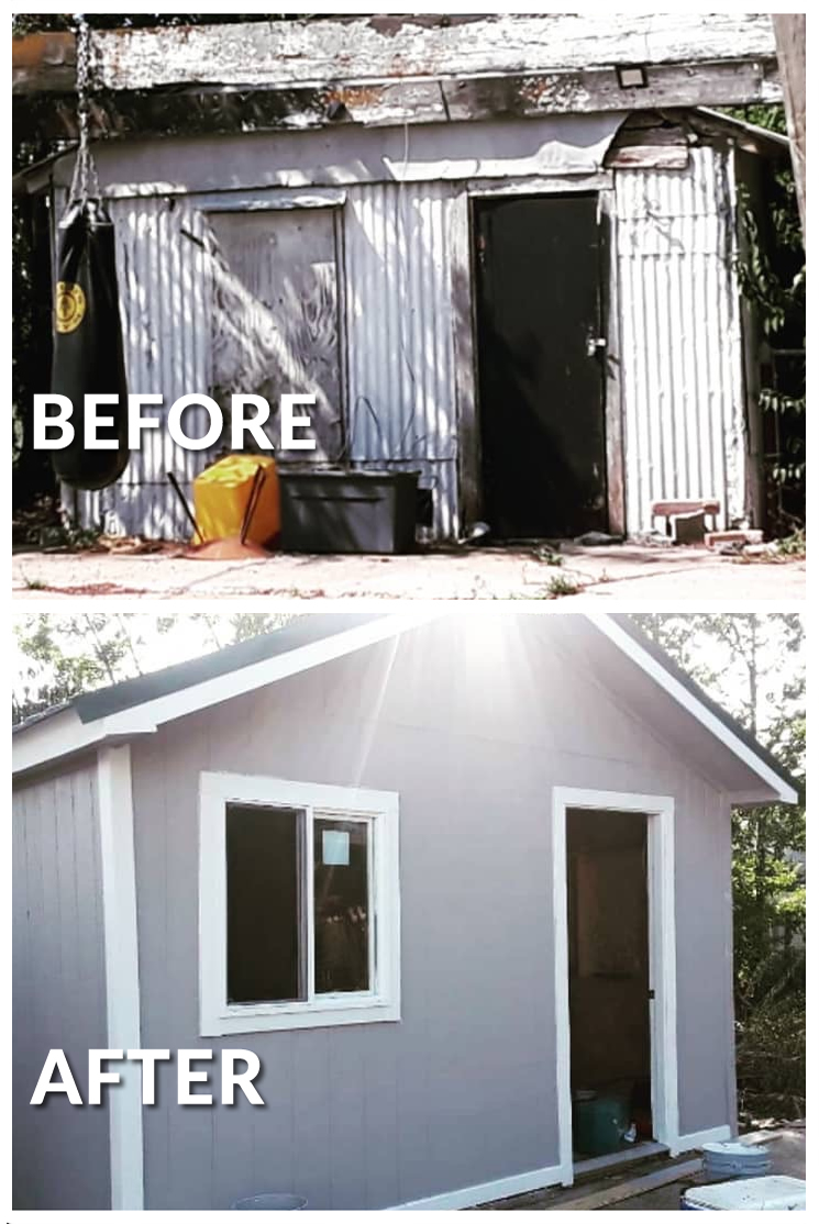 Shed Rebuild Construction Waco Texas
