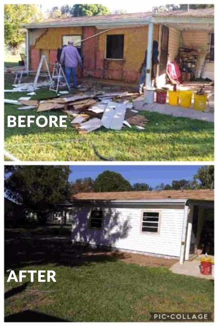 Siding Installation Waco - Before & After